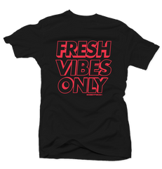 c88bc293a7d Fresh Vibes Only Black Infrared Tee