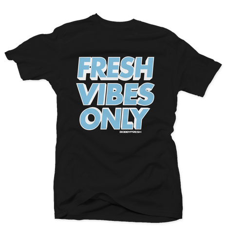 Fresh Vibes Only Black Unc 1's Tee