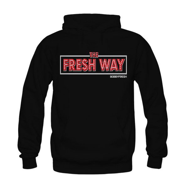 Fresh Way Black Hoodie