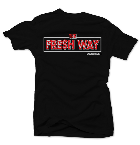 Fresh Way Black Tee