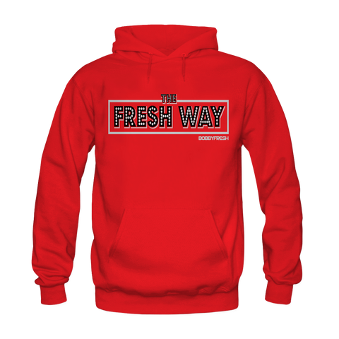 Fresh Way Red Hoodie
