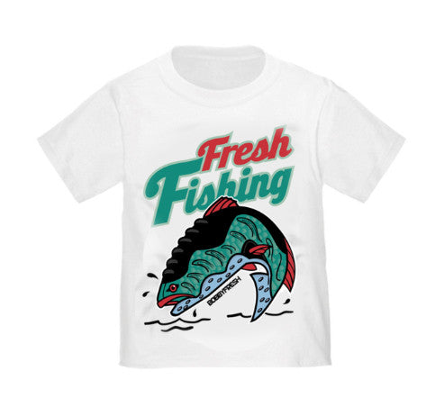 Fresh Fishing BabyFresh White Tee