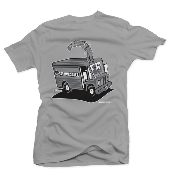 Fresh Mobile Silver/Wolf Grey Tee