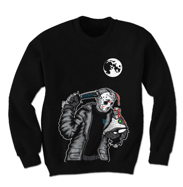 Friday the 13th Baron Black Crewneck