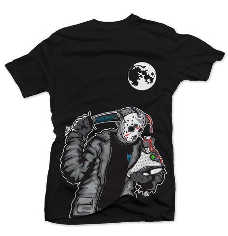 Friday the 13th Baron Black Tee
