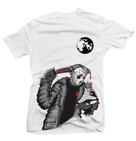 Friday the 13th (He Got Game) White Tee