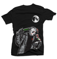 Friday the 13 Black Tee (Reverse He Got Game)