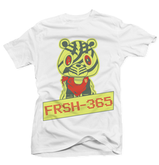 FRSH 365 Frozen Yellow White Tee