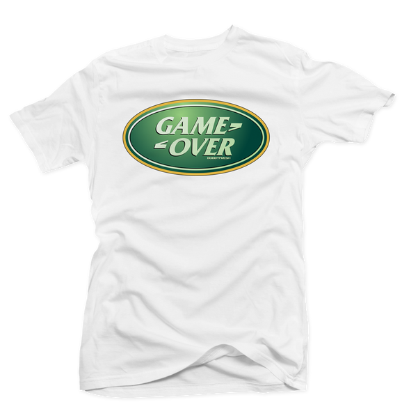 Game Over White Tee