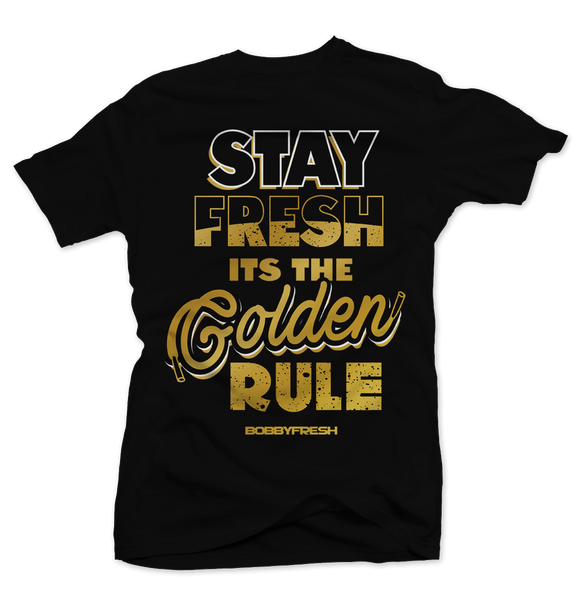 Golden Rule Black Tee