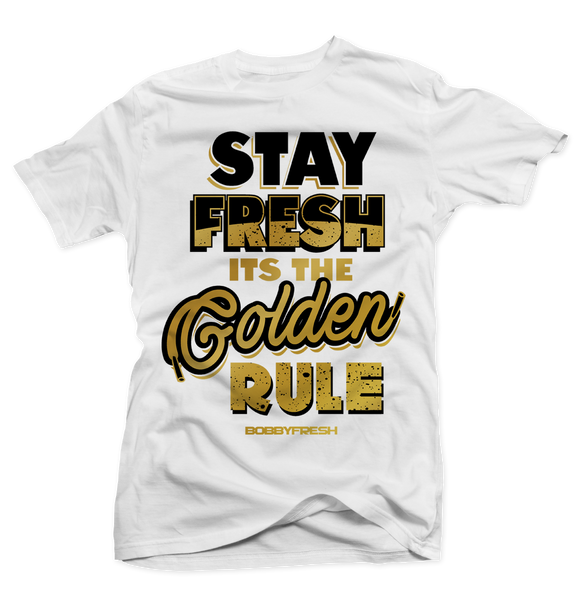 Golden Rule White Tee