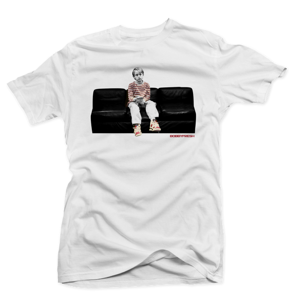 Good Son White/Carmine Tee