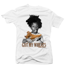 Got my Wheats 6's White Tee