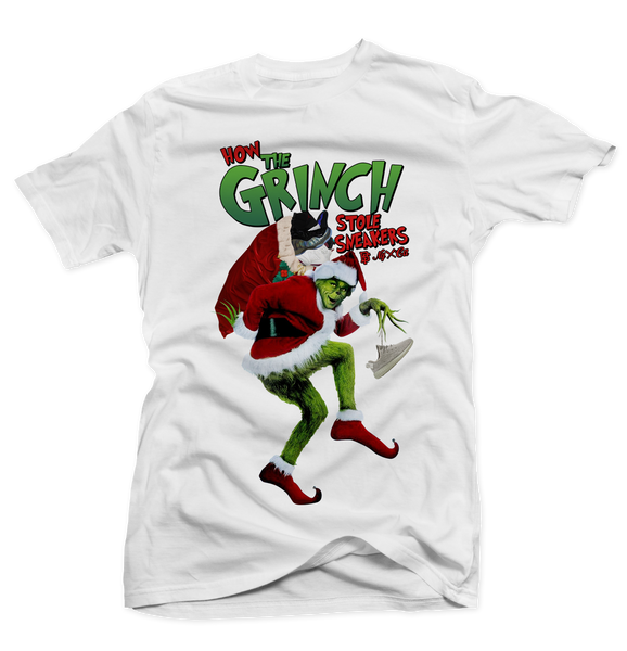 The Grinch White Tee