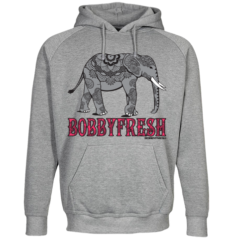 Henna Heather Grey Hoody