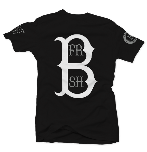 Home Run Baron Black Tee