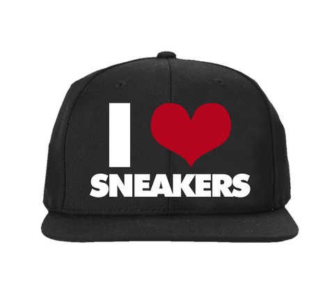 I Love Sneakers 72-10 All Black Snapback