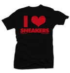 I Love Sneakers Blk/Red Tee - Bobby Fresh