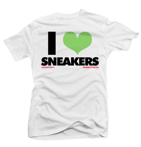 I Love Sneakers Space Jam 5 White Tee
