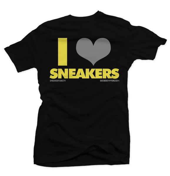 Bobby Fresh x SneakerTube I Love Sneakers Thunder Tee