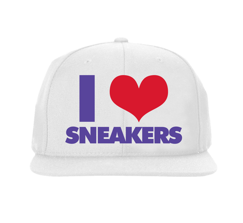 I Love Sneakers Sweater Snapback