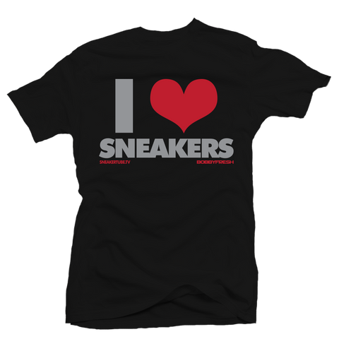 I love Sneakers BOB Black Tee