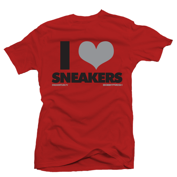 I love Sneakers BOB Red Tee