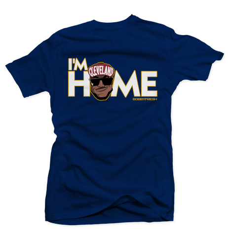 Im Home Navy Tee