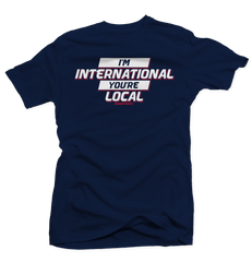 I'm International Navy International 12's Tee
