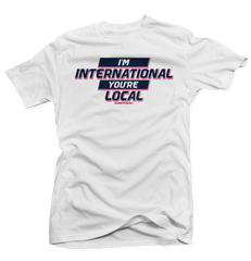 I'm International White International 12's Tee