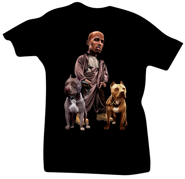 All Dogs Go to Heaven Black DMX Tee - Bobby Fresh