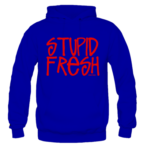 Stupid Fresh Royal Hoodie