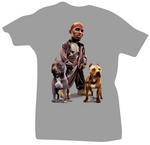 All Dogs Go to Heaven Limited Grey DMX Tee - Bobby Fresh