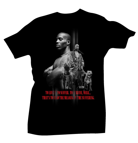 Dmx Meaning in the Suffer Tee - Bobby Fresh
