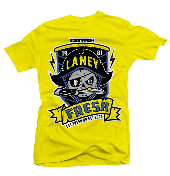 Pirate Laney Yellow Tee