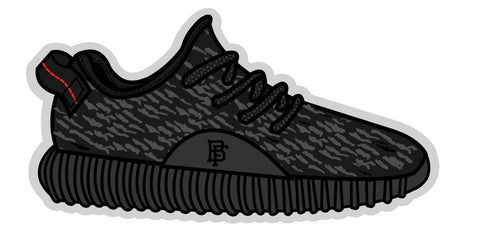 Yeezy Black 350 Boost Air Freshener