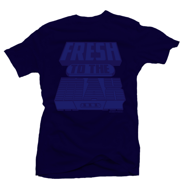 Fresh to the Max All Navy Tee