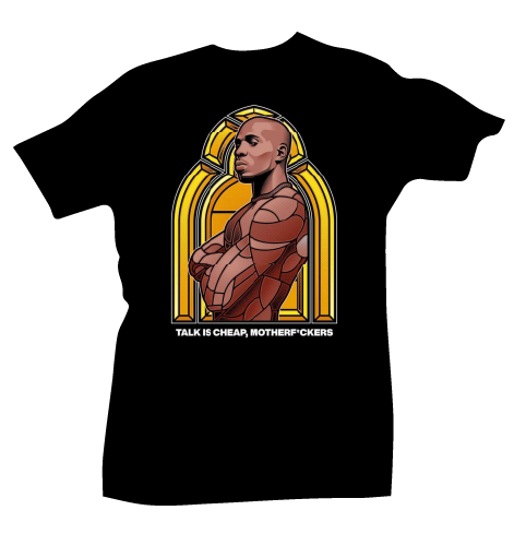 Dmx Stained Glass Tee - Bobby Fresh