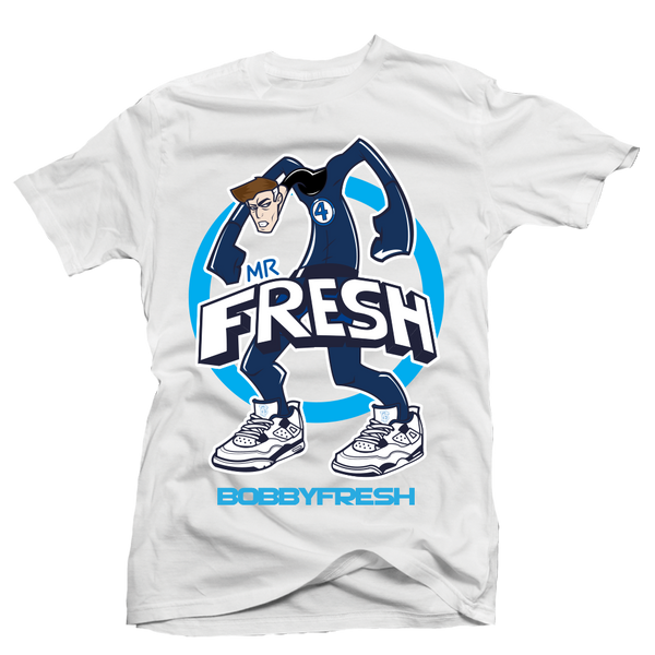 Mr Fresh White Tee