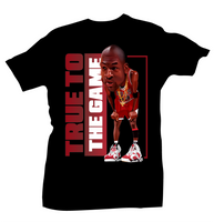 True to the Game Tee (Carmine 6) - Bobby Fresh