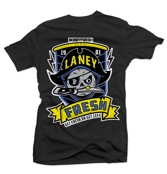 Pirate Laney Black Tee