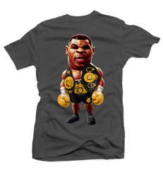 Iron Mike Charcoal Tee (Dark Charcoal)