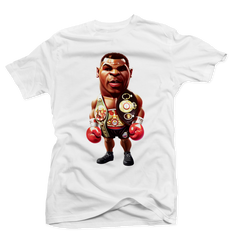 Iron Mike White Tee