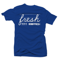 Jackpot Hyper Royal Tee - Bobby Fresh
