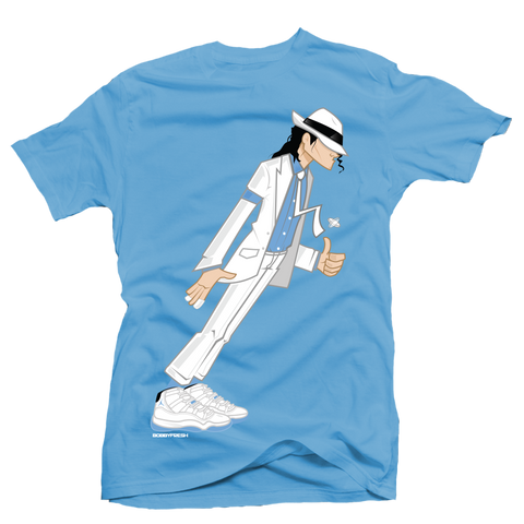 Smooth Criminal Legend Blue Tee