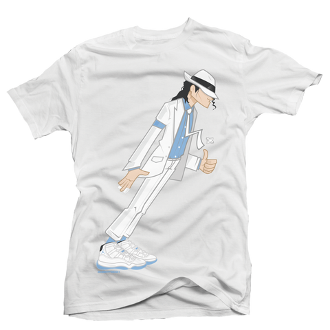 Smooth Criminal White Tee