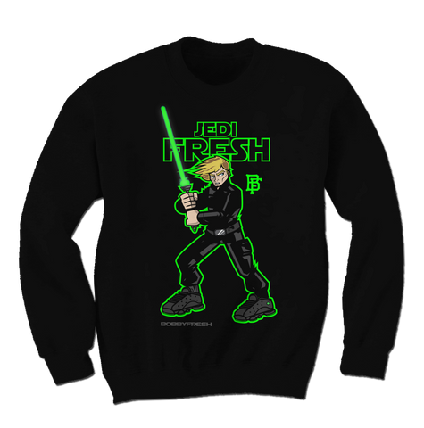 Jedi Fresh Black Altitude 13 Crewneck Sweater