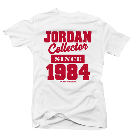 Jordan Collector History of Flight White Tee