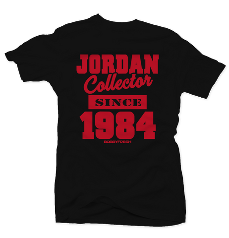 Jordan Collector Black/Red Tee