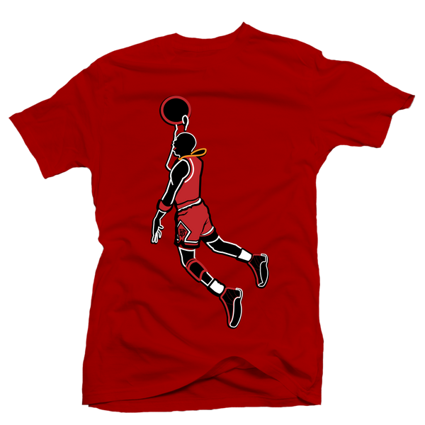 Jumpin out the Gym Red Tee